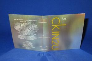 ✿ Klein Calvin 🌸  CK IN 2 U FOR HER 🌸 échantillon ✿