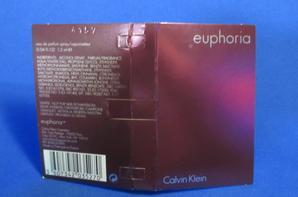 ✿ Klein Calvin 🌸  EUPHORIA FOR HER 🌸 échantillon ✿