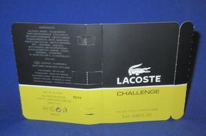 ✿ Lacoste 🌸 CHALLENGE 🌸  échantillon ✿