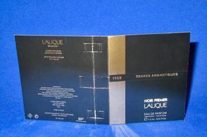 ✿ Lalique 🌸 TERRES AROMATIQUES  🌸  échantillon ✿