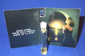 ✿ Lancôme 🌸 MAGIE NOIRE 🌸  échantillon ✿
