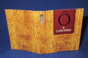 ✿ Lancôme 🌸 Ô 🌸  échantillon ✿