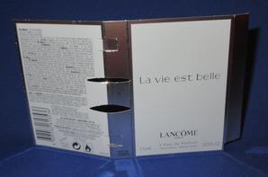 ✿ Lancôme 🌸 LA VIE EST BELLE   🌸  échantillon ✿
