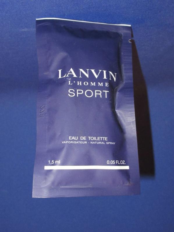 ✿ Lanvin 🌸 PARFUMS POUR HOMME 🌸  les échantillons ✿