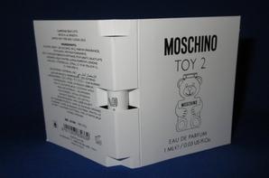 ✿ Moschino 🌸 TOY 2  🌸 échantillon ✿