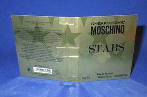✿ Moschino 🌸 STARS  🌸 échantillon ✿