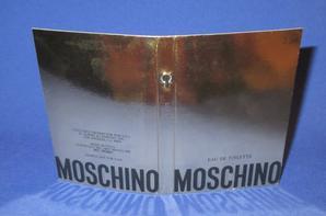 ✿ Moschino 🌸 MOSCHINO  🌸 les échantillons ✿