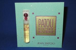 ✿ Patou Jean 🌸 PATOU FOR EVER 🌸 les échantillons ✿