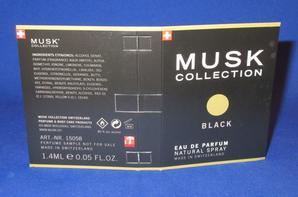 ✿ Musk Collection 🌸 BLACK 🌸  échantillon ✿