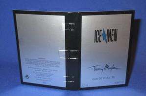 ✿ Mugler Thierry 🌸 ICE MEN 🌸  échantillon ✿