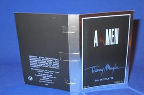 ✿ Mugler Thierry 🌸  A * MEN 🌸  les échantillons ✿