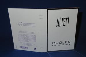 ✿ Mugler Thierry 🌸 ALIEN 🌸  les échantillons ✿