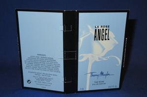 ✿ Mugler Thierry 🌸 ANGEL LA ROSE 🌸  échantillon ✿