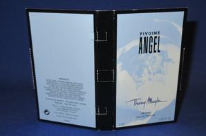 ✿ Mugler Thierry 🌸 ANGEL PIVOINE 🌸  échantillon ✿
