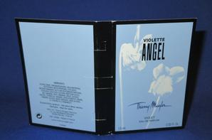 ✿ Mugler Thierry 🌸 ANGEL VIOLETTE 🌸  échantillon ✿