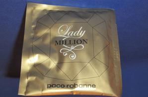 ✿ Rabanne Paco  🌸 LADY MILLION 🌸 les échantillons ✿