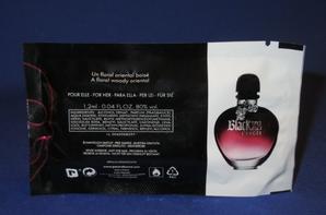 ✿ Rabanne Paco  🌸 BLACK XS 🌸 les échantillons ✿