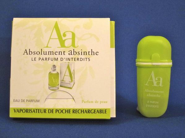 ✿ Absolument Parfumeur 🌸 ABSOLUMENT ABSINTHE 🌸 échantillon ✿