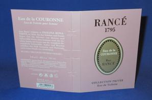 ✿ Rancé 1795  🌸 PARFUMS POUR FEMME 🌸 les échantillons ✿