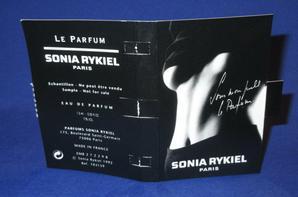 ✿ Rykiel Sonia 🌸 LE PARFUM 🌸 échantillon ✿