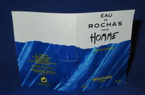✿ Rochas 🌸 EAU DE ROCHAS POUR HOMME 🌸 échantillon ✿