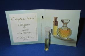 ✿ Ricci Nina  🌸 CAPRICCI 🌸 les échantillons ✿