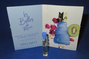 ✿ Ricci Nina  🌸 LES BELLES DE RICCI 🌸 les échantillons ✿