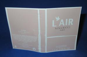 ✿ Ricci Nina  🌸 L'AIR  🌸  échantillon ✿
