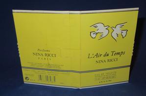 ✿ Ricci Nina  🌸 L'AIR DU TEMPS  🌸 les échantillons ✿