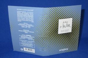 ✿ Sisley  🌸 EAU D'IKAR  🌸 échantillon ✿