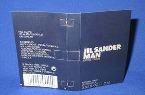✿ Sander Jil  🌸 MAN 🌸 échantillon ✿