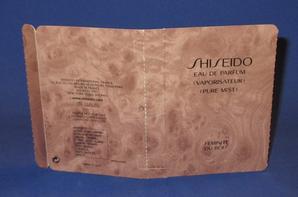 ✿ Shiseido 🌸 PARFUMS POUR FEMME 🌸 les échantillons ✿