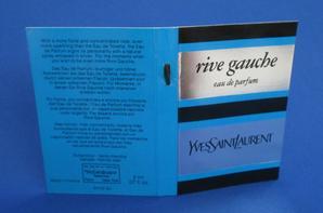 ✿ St Laurent Yves 🌸  RIVE GAUCHE 🌸 échantillon ✿