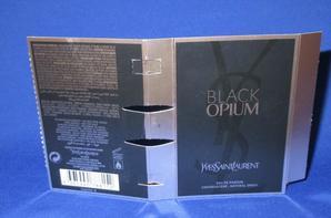 ✿ St Laurent Yves 🌸  BLACK OPIUM 🌸 les échantillons ✿