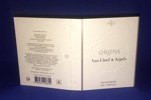 ✿ Van Cleef & Arpels 🌸 ORIENS 🌸  les échantillons ✿
