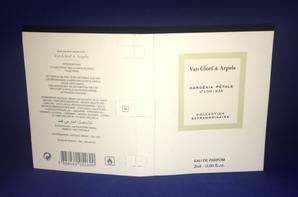 ✿ Van Cleef & Arpels 🌸 GARDENIA PETALE 🌸 échantillon ✿