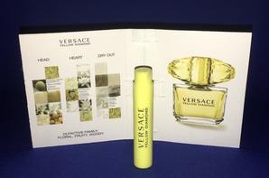✿ Versace Gianni  🌸 YELLOW DIAMOND 🌸 échantillon ✿