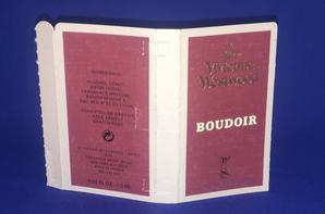 ✿ Westwood Vivienne  🌸  BOUDOIR 🌸 échantillon ✿