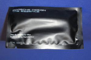✿ Porsche 🌸 THE ESSENCE 🌸 échantillon en pochette plastique ✿
