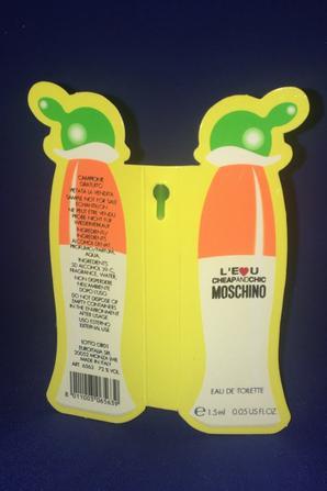 ✿ Moschino 🌸  CHEAP AND CHIC - L'EAU  🌸 échantillon ✿