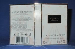 ✿ McQueen 🌸 MC QUEEN  🌸 échantillon  ✿
