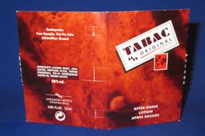 ✿ Maürer & Wirtz 🌸 TABAC ORIGINAL  🌸 échantillon  ✿