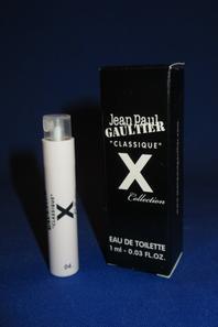 ✿  Gaultier Jean Paul 🌸 CLASSIQUE X 🌸 échantillons en boîte ✿