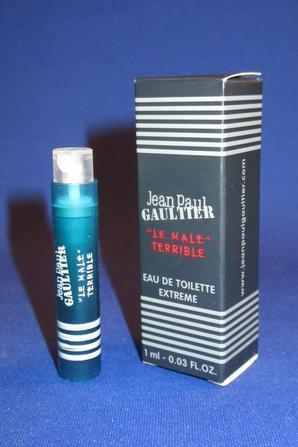 ✿ Gaultier Jean Paul 🌸  LE MÂLE TERRIBLE 🌸  échantillon en boîte  ✿