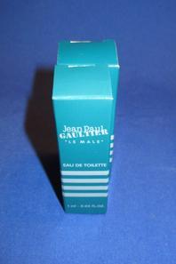 ✿ Gaultier Jean Paul 🌸  LE MÂLE  🌸  échantillons en boîte  ✿