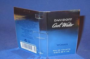 ✿ Davidoff 🌸  COOL WATER POUR FEMME 🌸  les échantillons ✿