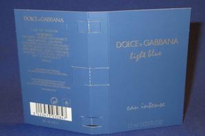 ✿ Dolce & Gabbana 🌸  LIGHT BLUE🌸échantillon ✿