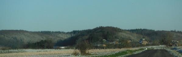 La neige en petite quantité...