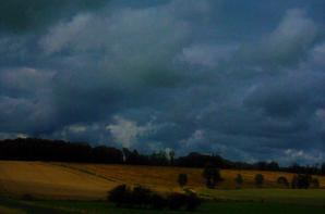 Après la pluie de la journée...