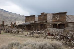 """OLD TRAIL TOWN : """"ancienne ville"""" où l'on tournait les films (à côté de Cody-Wyoming)"""